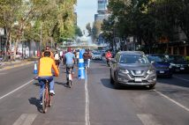 Getting people out of cars and onto bikes is hugely helpful both in alleviating traffic, but keeping air quality contained.