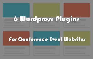 6pluging-for-conferene-websites
