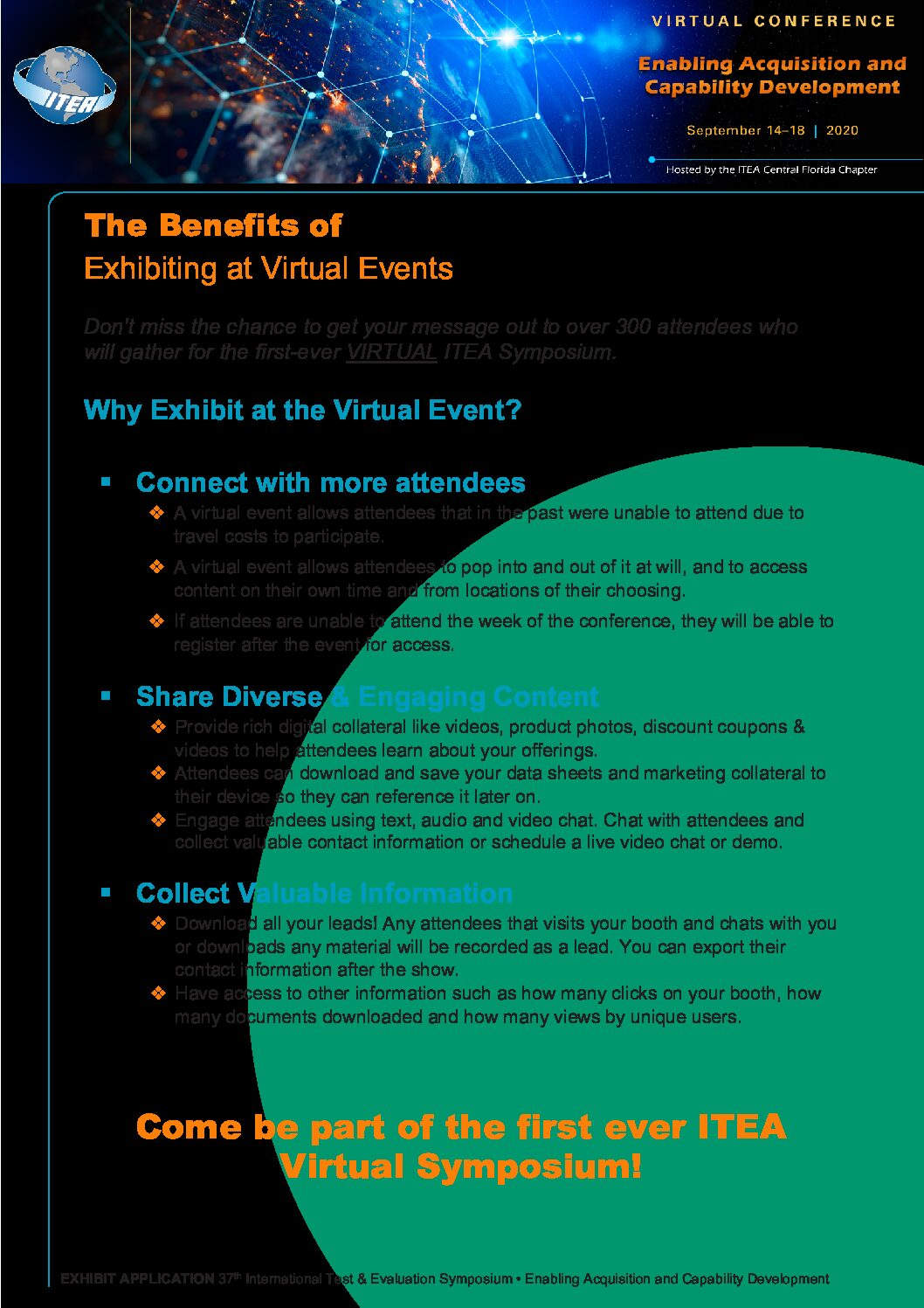 ITEA Virtual Exhibit Application