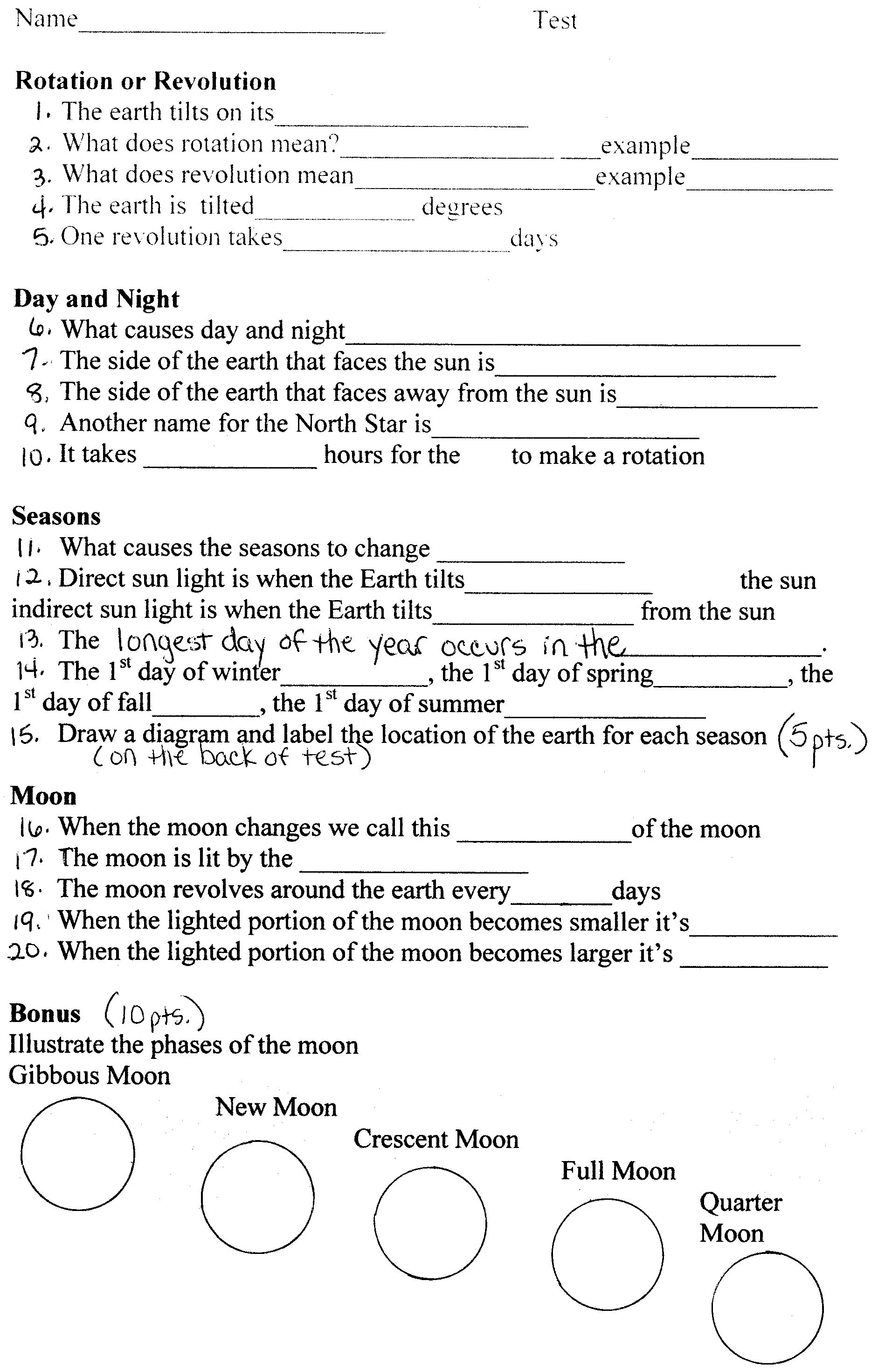 hight resolution of Earth Science