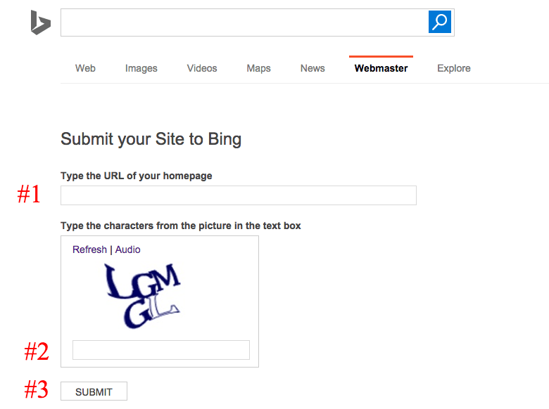 How to Submit your Site to Bing