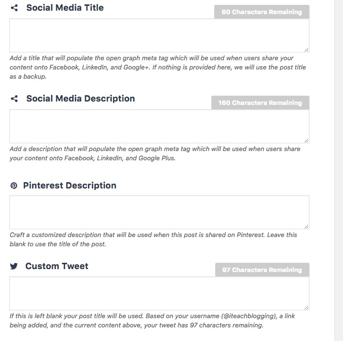 Social Warfare Button Designs