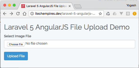 laravel 5 angular js file upload - itech empires