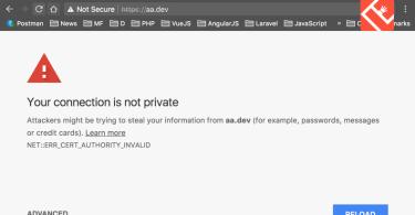 google chrome .dev domain-issue fix