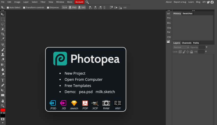 photopea editor review