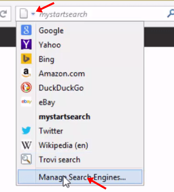 remove mystartsearch from firefox