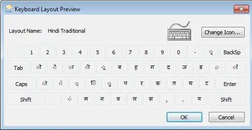 Change Keyboard Language hindi