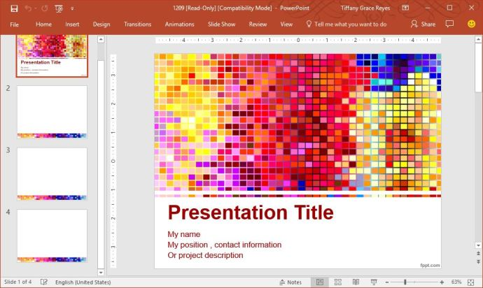 colorful-pixels-powerpoint-template