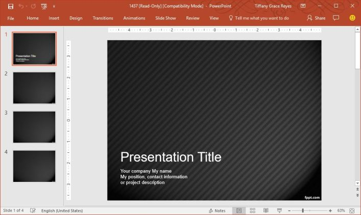 pinstripe-pattern-powerpoint-template