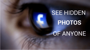 How to See Hidden Photos of Someone on Facebook