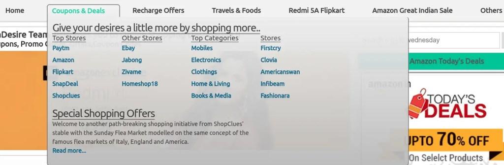 indiadesire.com, discounts, deals, online shoppers, retailers