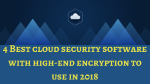 cloud security software, cloud security, encryption