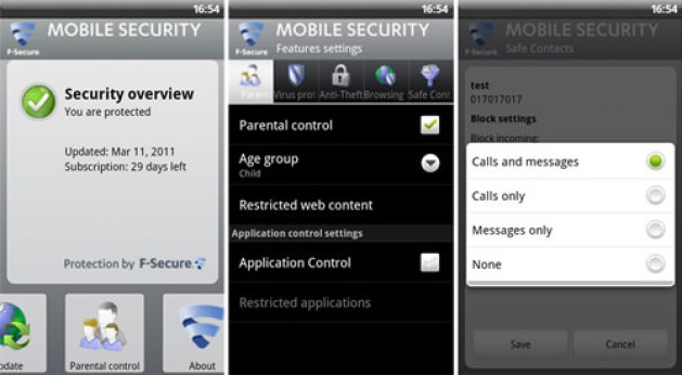 f-secure android antivirus