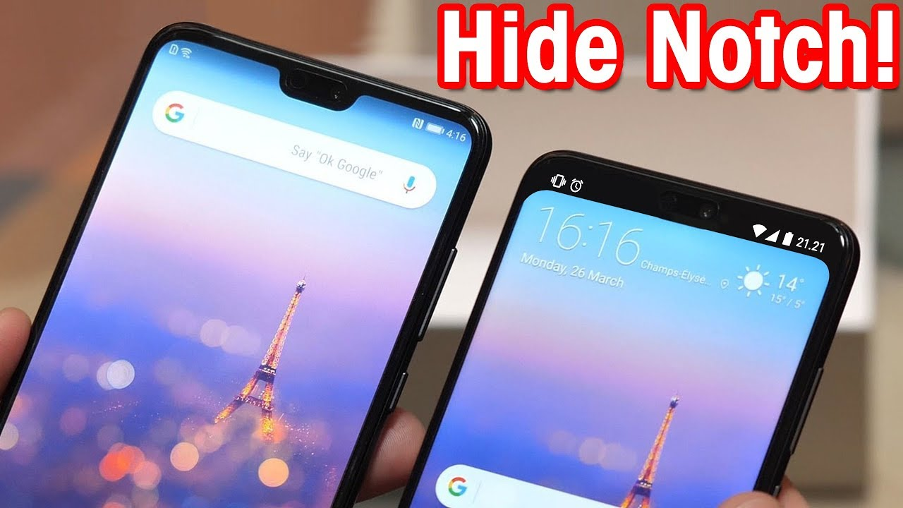 Nacho Notch : How to Hide Display Notch Using Nacho Notch on