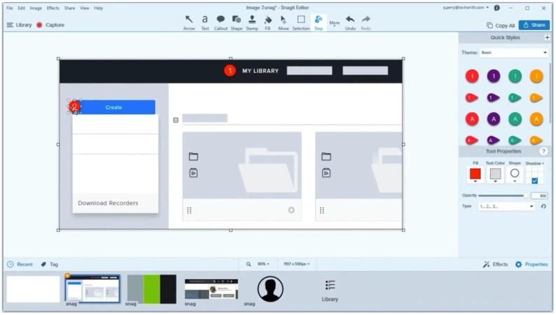 snagit screen recorder for mac