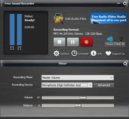 record computer audio