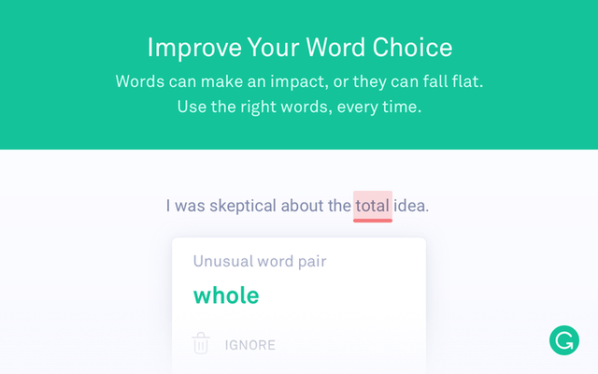 grammarly for chrome to be productive