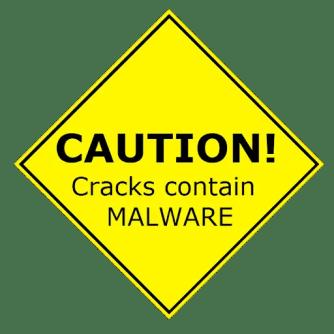 software cracks malware