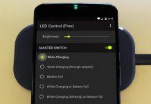 Enable Charging LED on Nexus 6