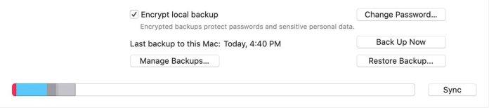 Locate iPhone Backup windows Macbook