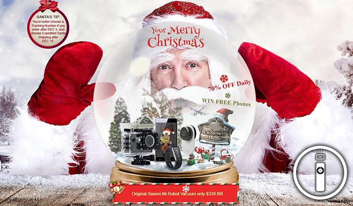 Ecco tutte le offerte natalizie di GearBest