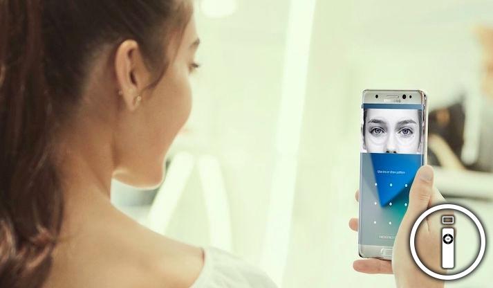 Samsung Galaxy S8 si sblocca con un foglio