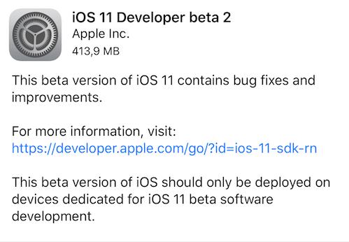 IOS 11 Beta 2 mappe indoor e non solo