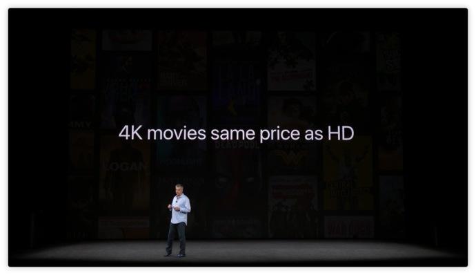 Apple TV 4K con HDR ufficiale