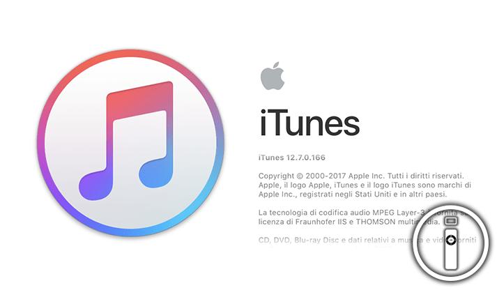 Apple rilascia iTunes 12.7 e rimuove l'App Store da Mac