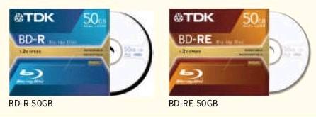 TDK Blu-Ray Media