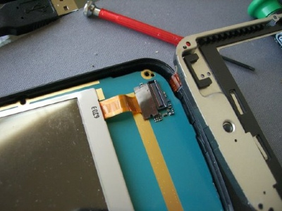 Nokia N800 Disassembled 3