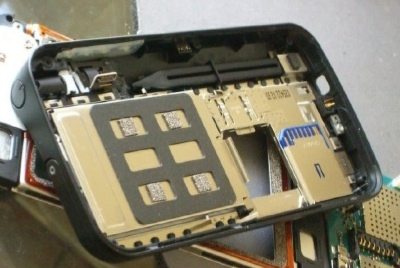 Nokia N800 Disassembled