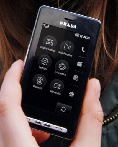 PRADA Phone LG KE850