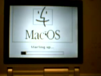 Mac OS 7.5 on NDS