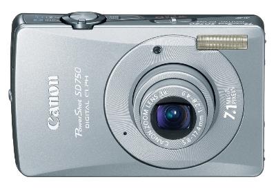 Canon PowerShot SD750 Digital ELPH Camera