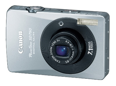 Canon PowerShot SD750 Digital ELPH Camera
