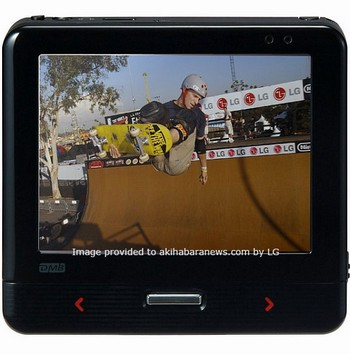 LG N1 GPS, DMB PDA