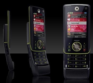 Motorola MOTORIZR Z8 Kick Slider
