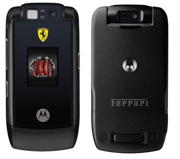 Motorola Motorazr Maxx V6 Ferrari Challenge Mobile Phone