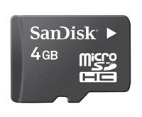SanDisk 4GB microSD