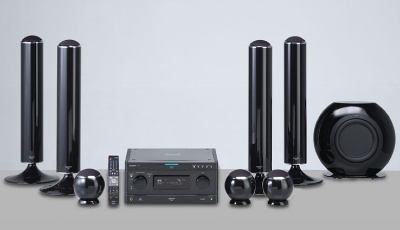 Sharp AQUOS BD-MPC70 Audio System