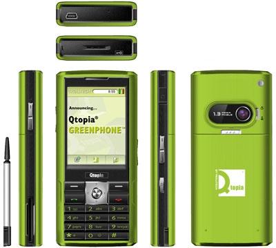 Trolltech Qtopia Greenphone Linux Phone