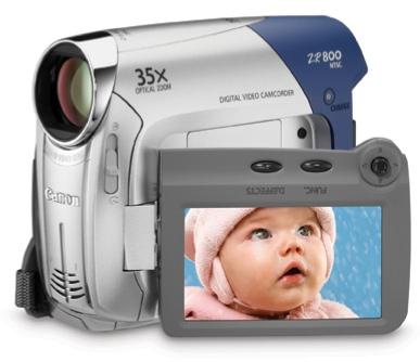Canon ZR800 MiniDV Camcorder