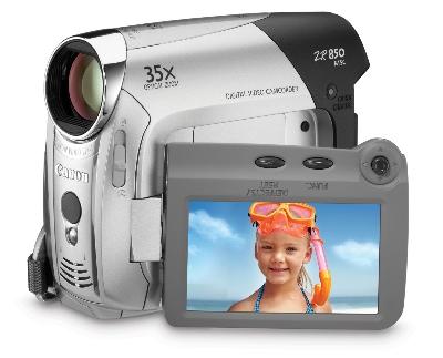 Canon ZR850 MiniDV