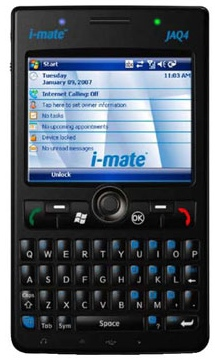 i-mate JAQ4 WM6 PDA Phone
