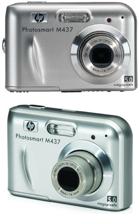 HP Photosmart M437 Digital Camera