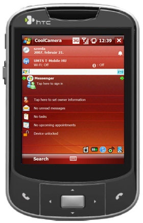 HTC Elf P3450  PDA phone