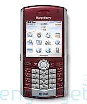 RIM Blackberry Pearl in red