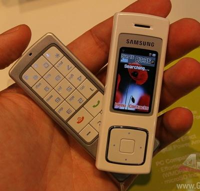 Samsung F200 Music Phone