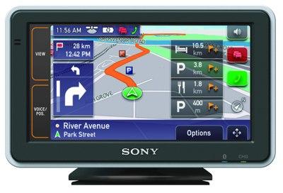 Sony NV-U82, NV-U92T GPS